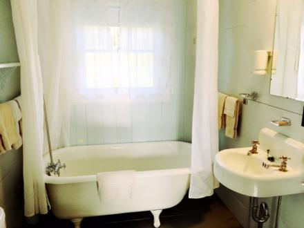 Bathroom at Barrington Cabin